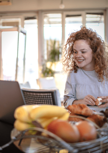 Virtual day treatment provides nutrition and meal support